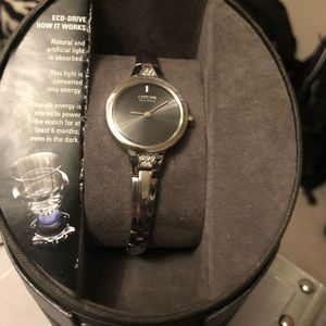EUC Citizen Axiom Womens Stainless Steel Watch